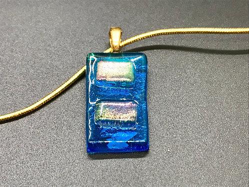 Dichroic Glass Pendant ~ Glass Act
