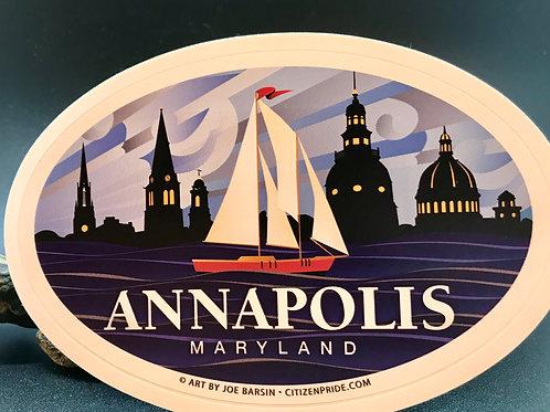 Annapolis Maryland Sticker