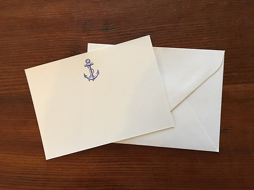 Ahoy! Notecards set of 10