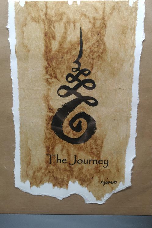 Tea Bag Art ~ The Journey ~ Liz Sork Designs