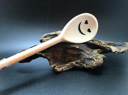 Heart Eyes Wooden Spoon
