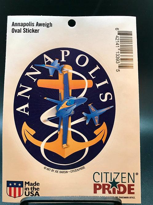 Annapolis Anchor sticker (1)