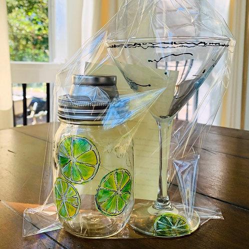 Margarita Cocktail Shaker with Glass ~ Chesapeake Bay Co