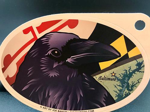 Baltimore Raven sticker