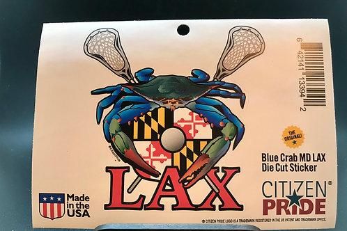 Blue Crab MD LAX sticker (1)