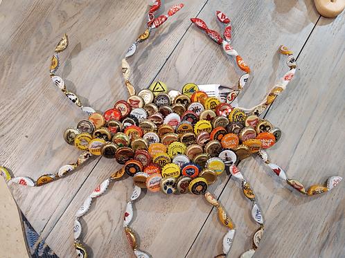 Bottle Cap Crabs in Rainbow ~ Drift Shop