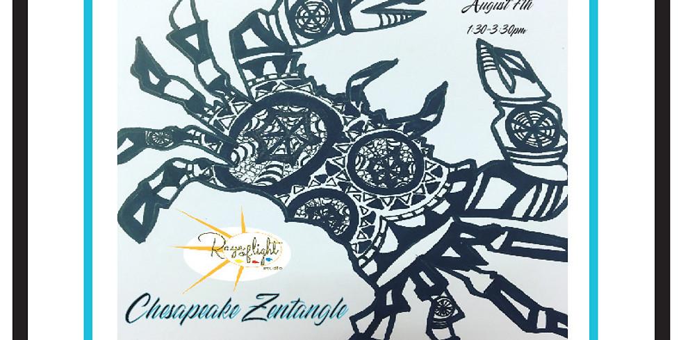 Chesapeake Zentangle with Raye of Light Studio