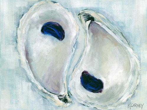 Plum Poised Oysters~ Katherine Carney