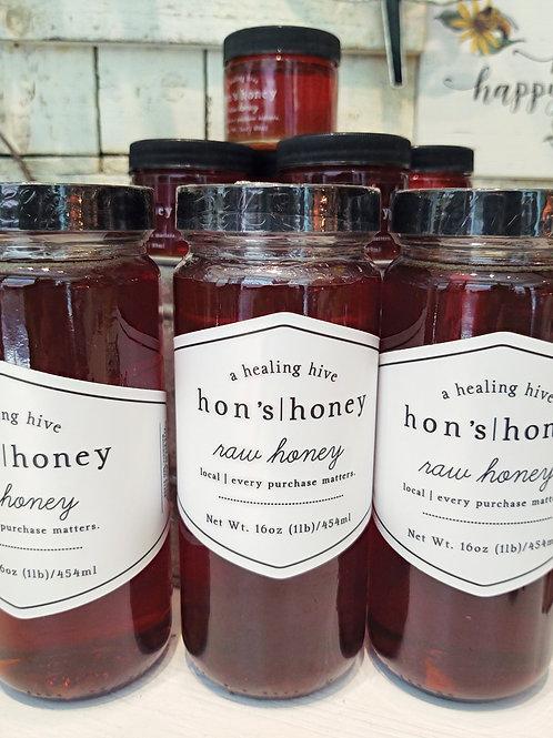 Hon's Honey ~ Raw Honey