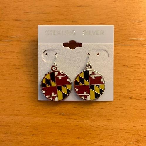 Maryland Pride Earrings