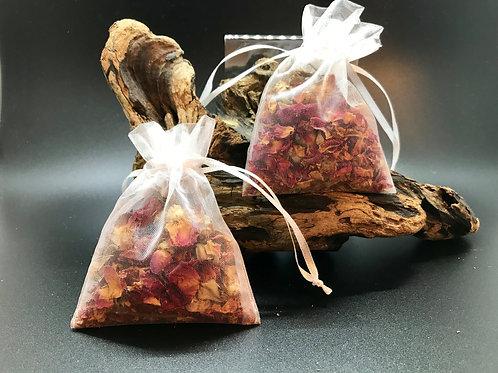 Sachet of Dried Rosebuds