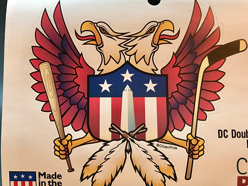 DC double eagle crest sticker (1)