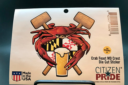MD Crab Feast Sticker