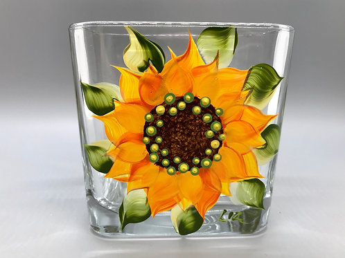 Votive Holder - Square Glass