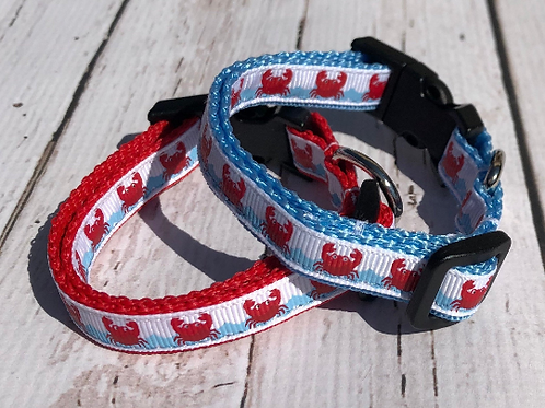 MINI OH SO CRABBY COLLARS!