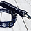 Thumbnail: NAVY ANCHOR DOG LEASHES!