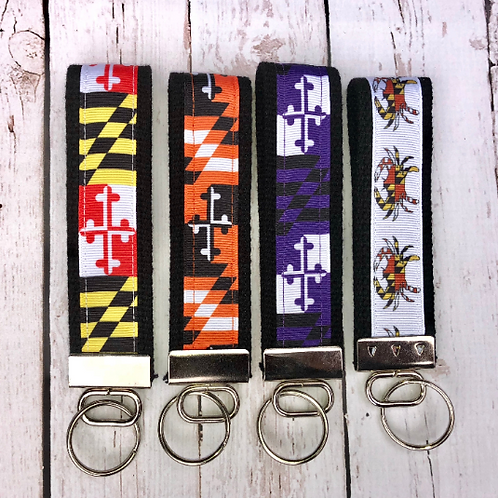 Maryland Inspired Key Fobs