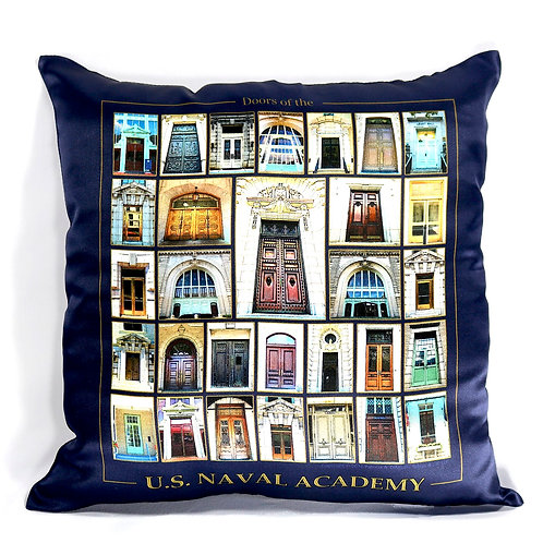USNA Silk Pillow Covers