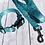 Thumbnail: PRETTY PREPPY PREMIUM BLUE PAISLEY  DOG COLLARS!