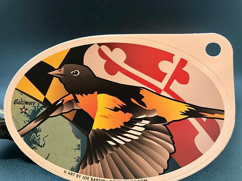 Baltimore Oriole Bird sticker (1)