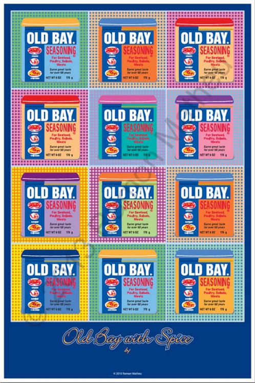 Old Bay with Spice Poster ~ Ramon Matheu
