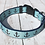 Thumbnail: BLUE CHEVRON ANCHOR DOG COLLARS