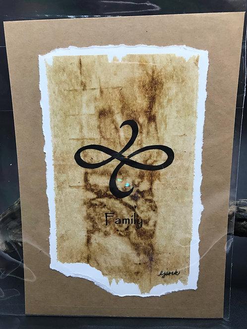 Tea Bag Art ~ Family ~ Liz Sork Designs