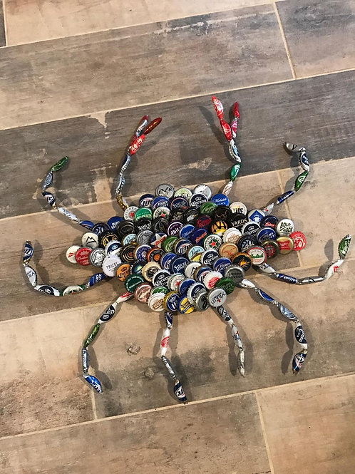Bottle Cap Crabs in Rainbow