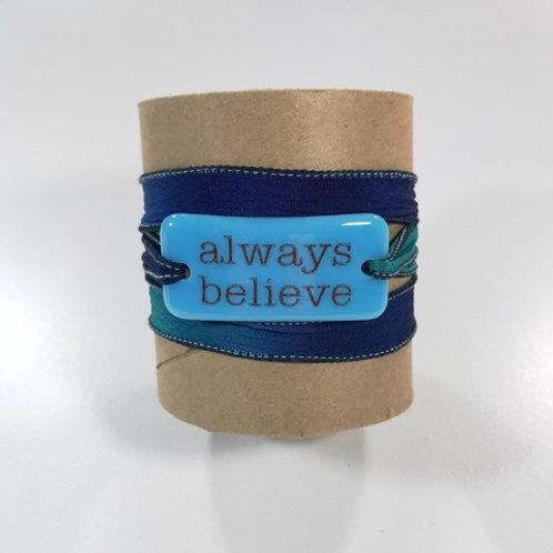 Serenity Bracelet - alway believe