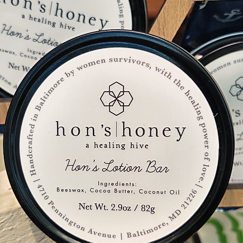 Hon's Lotion Bar ~ Hon's Honey