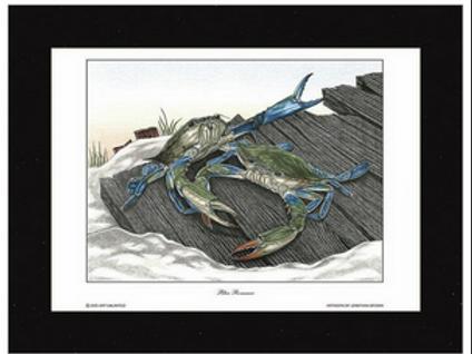Blue Romance Art Print by Jonathan Brown