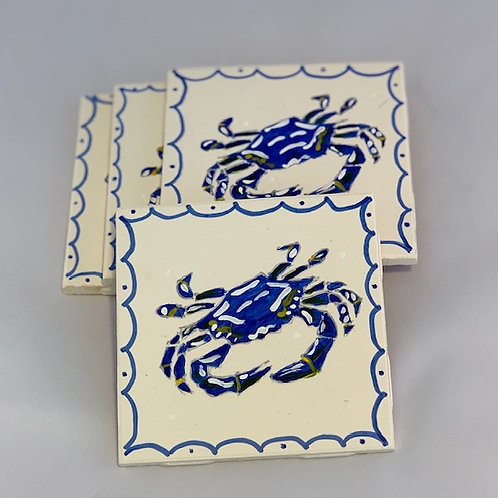 Crab Coaster Set