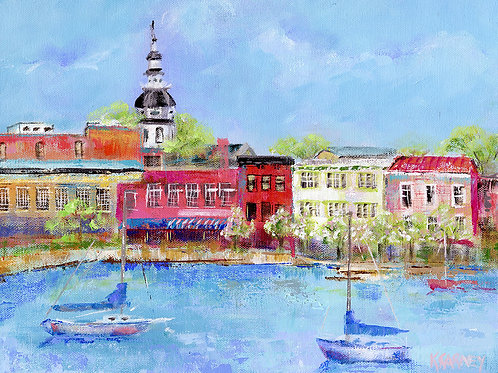 Annapolis Spring ~ Katherine Carney