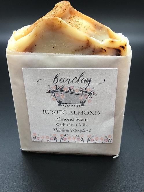 Rustic Almond Soap Bar