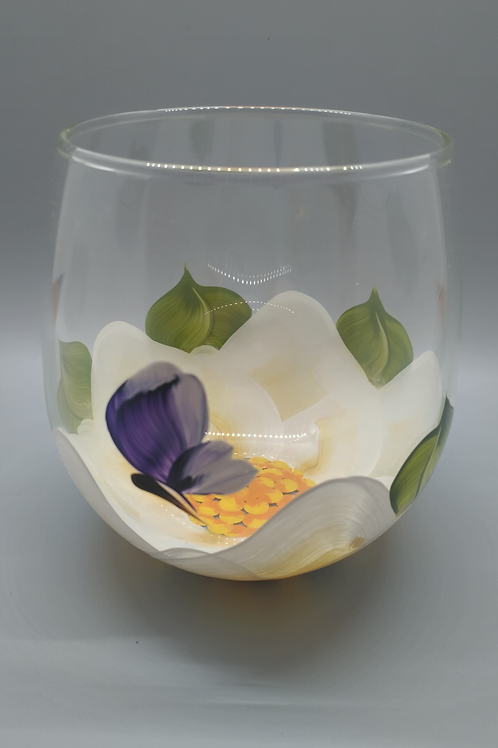 Wine Glass / Water Goblet - Magnolia