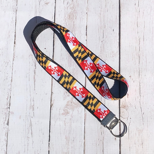 Maryland  Inspired Lanyard ~ A Little Loopy
