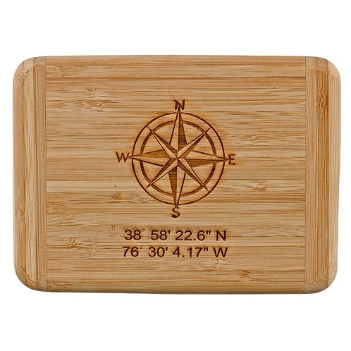 Personalized Compass Bar Board