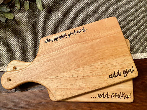 """If Life Gives You Lemons""  Cutting Board  ~ Doorway Designs"