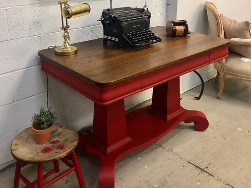 Red Table ~ Old Things New