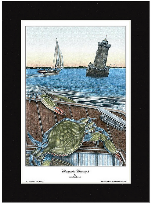 """Chesapeake Bounty 2"" by Jonathan Brown"