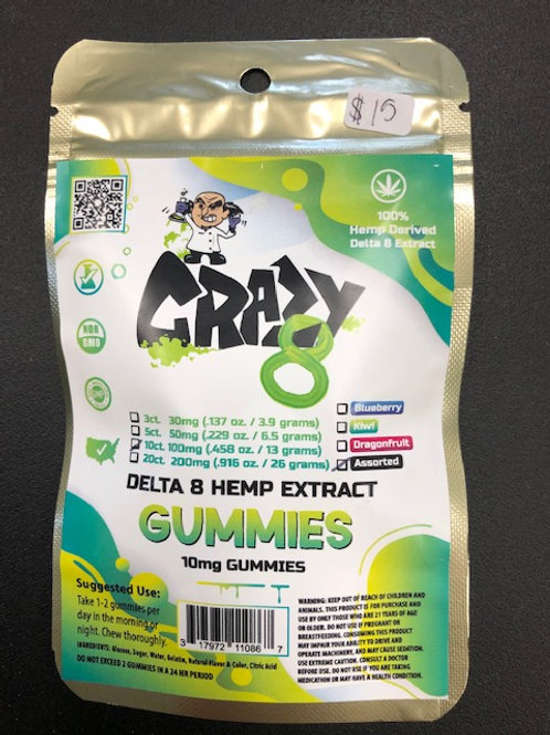 Delta 8 Hemp Extract Gummies