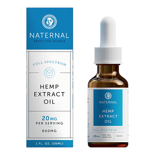 Naternal Full Spectrum Hemp Oil Extract