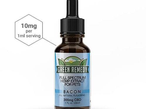 Green Remedy Pet Full Spectrum Hemp Extract - Bacon