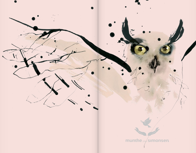 Illustrations project til Munthe plus Simonsen 2013 /Munthe plus Simonsen, Catalog spring/summer 2013