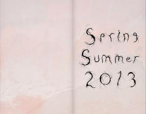 Munthe plus Simonsen, Catalog spring/summer 2013