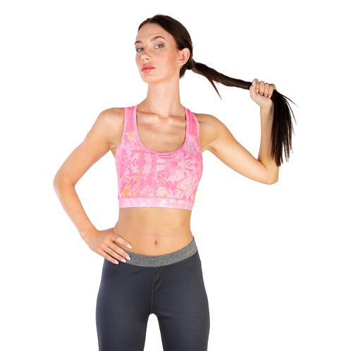 949b65cc9ab86 Technical sports wireless bra with cups. Composition: 90% PA, 10% EA Wash  at 30°C Dri-Activ Technology
