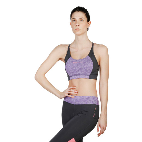 2bca55a255bd1 Technical sports bra with padding. Composition: 90% PL 10% EA Wash at 30°C  Dri-Activ Technology