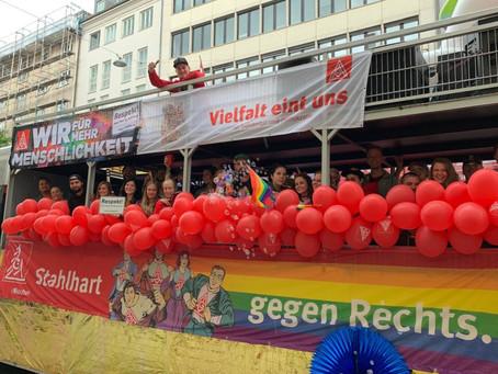 Münchener CSD mit der Respekt!-Initiative