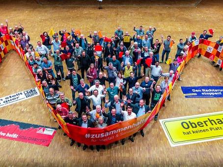 Delegierte werben für Solidarität und stellen sich gegen Ausgrenzung