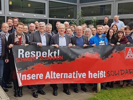 Bezirk Berlin-Brandenburg-Sachsen zeigt Respekt